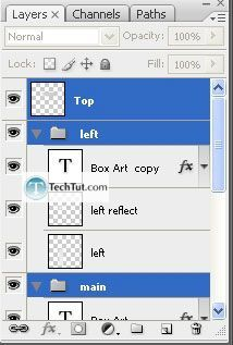 Tutorial Create 3d box using photoshop 5