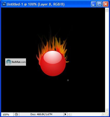 Tutorial Creating Realistic Flames Tutorial 7