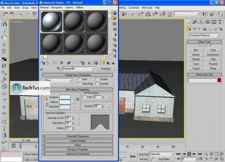 Tutorial Low poly house done in 3D max part 4 15
