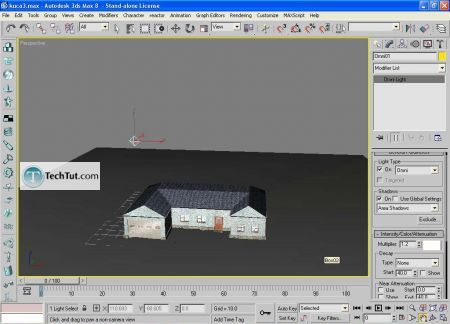 Tutorial Low poly house done in 3D max part 4 16