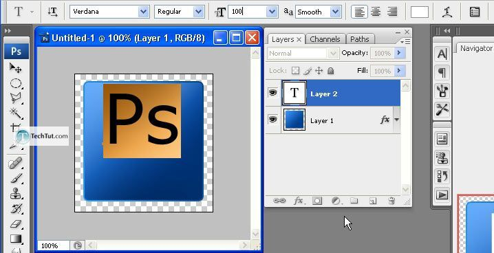 Creating the Photoshop CS3 Icon Tutorial