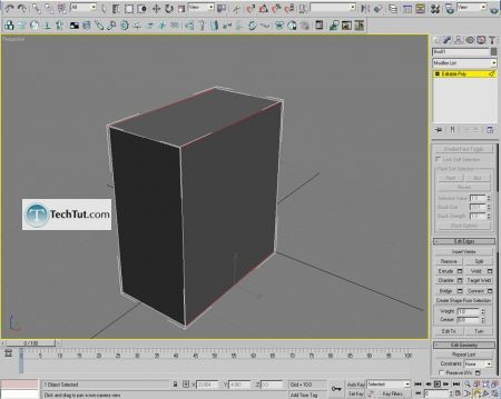 Tutorial Computer case object in 3D max part 1 1
