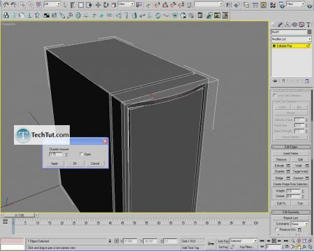 Tutorial Computer case object in 3D max part 1 10