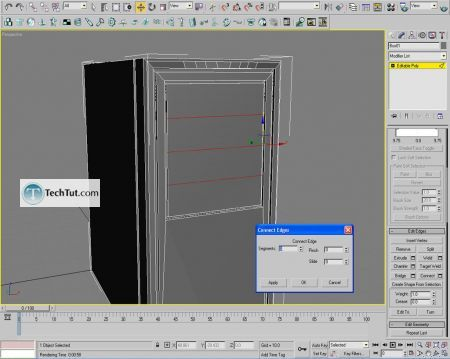 Tutorial Computer case object in 3D max part 1 13