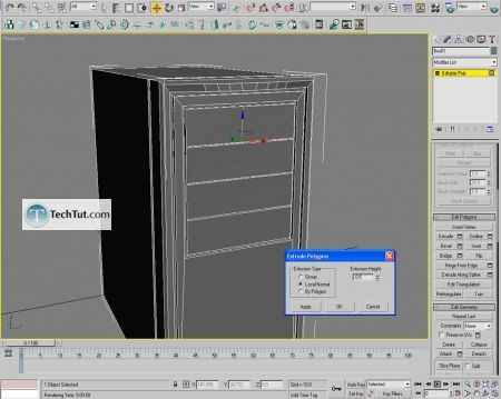 Tutorial Computer case object in 3D max part 1 14