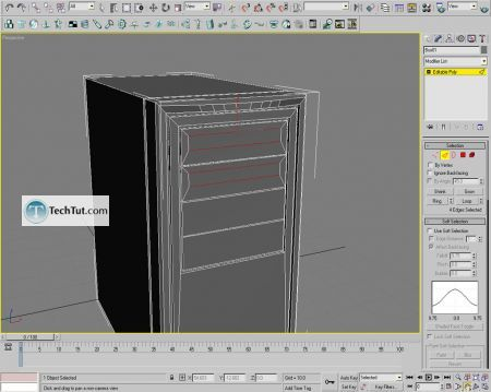 Tutorial Computer case object in 3D max part 1 15