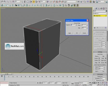 Tutorial Computer case object in 3D max part 1 2