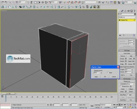 Tutorial Computer case object in 3D max part 1 4