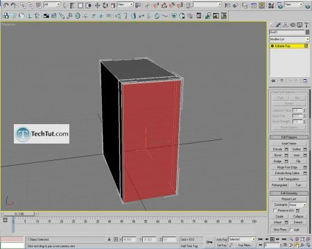 Tutorial Computer case object in 3D max part 1 5