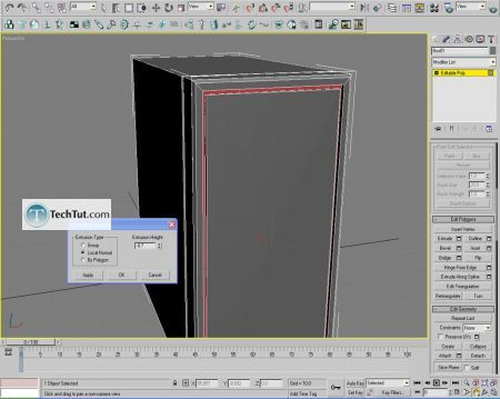 Tutorial Computer case object in 3D max part 1 6