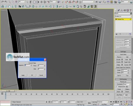 Tutorial Computer case object in 3D max part 1 8