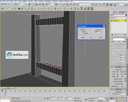 Tutorial Creating a chair object in 3D max part 2 5