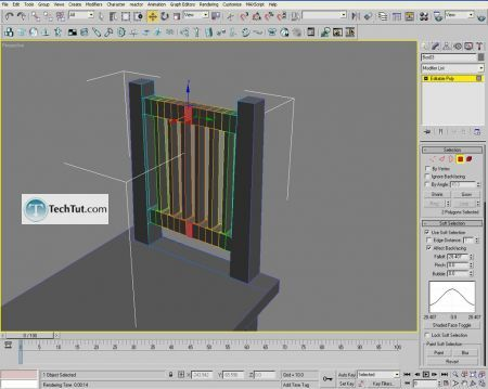 Tutorial Creating a chair object in 3D max part 2 7