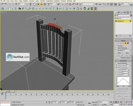 Tutorial Creating a chair object in 3D max part 2 8