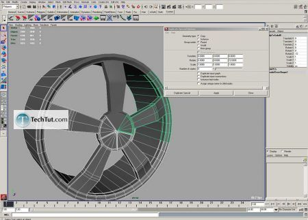 Tutorial Tutorial on how to make car rims part 3 4