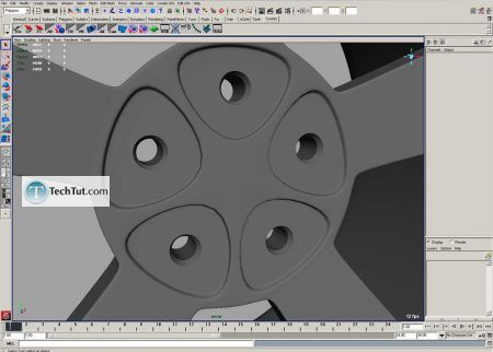 Tutorial Tutorial on how to make car rims part 4 2