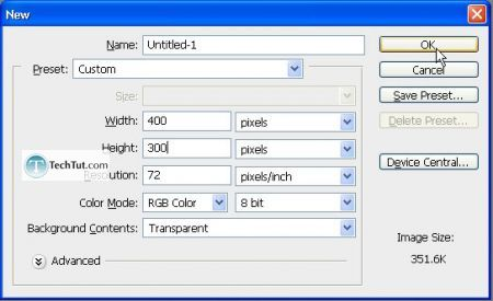 Tutorial Create web 2.0 button 2