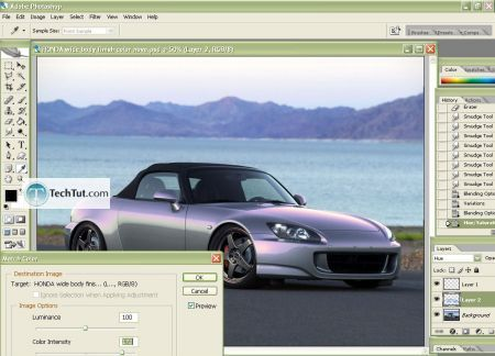 Tutorial Change the color of your car body 8