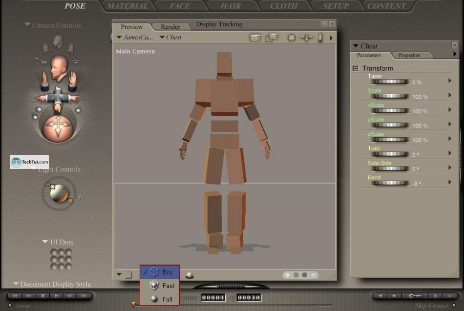 Poser tools for changing poses