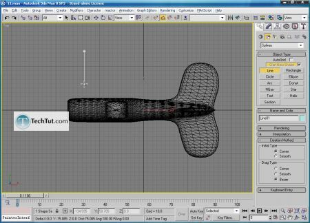 Tutorial Create airplane model part 4 4