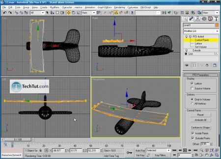 Tutorial Create airplane model part 4 6