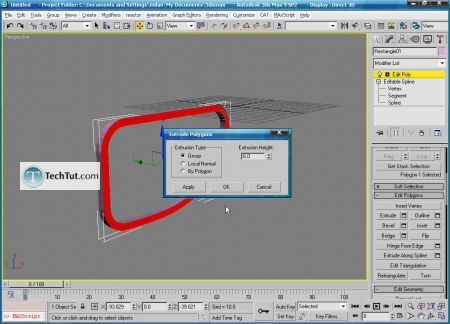 Tutorial Create 3D glasses model in max part 1 10