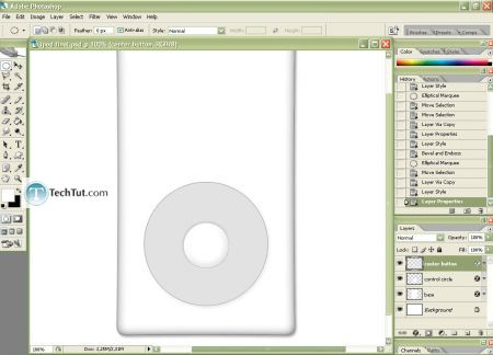 Tutorial Create iPod using Photoshop part 2 7