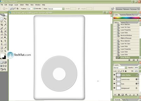 Tutorial Create iPod using Photoshop part 2 8