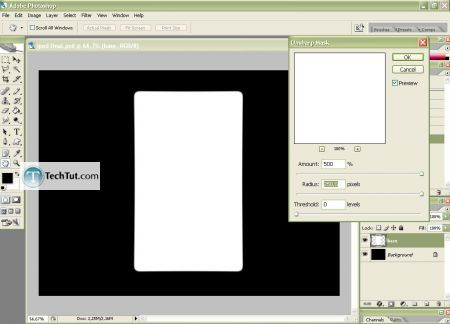 Tutorial Create iPod using Photoshop part 1 6