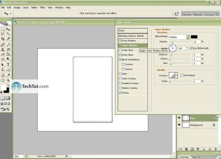 Tutorial Create iPod using Photoshop part 1 9