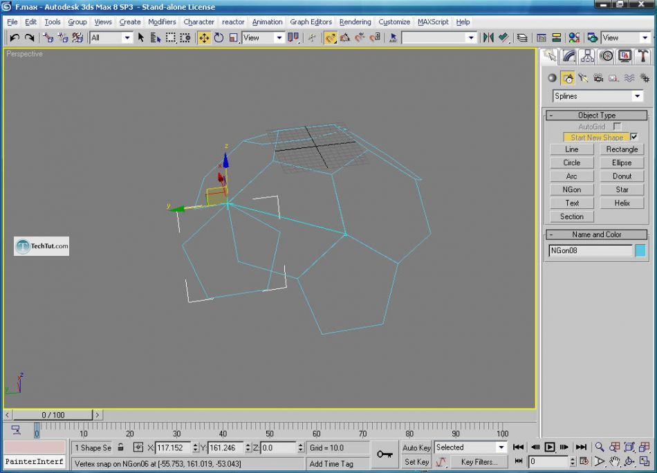 Create a soccer ball in 3D studio max